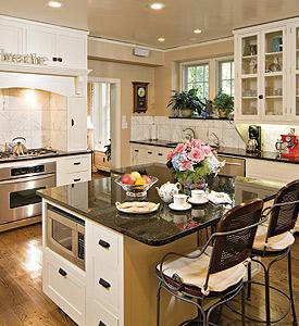 President's Home: Kitchen