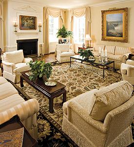 President's Home: Living Room
