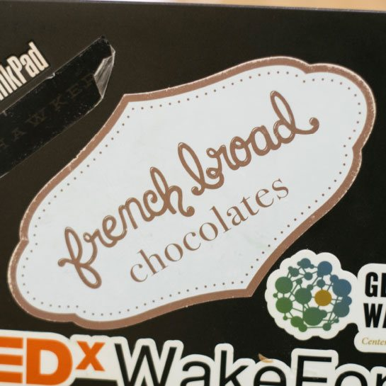 French Broad Chocolates sticker