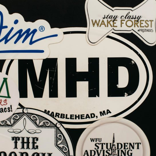 MHD sticker