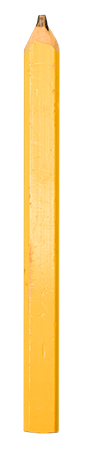 Pencil used to represent the number 1 in the animation