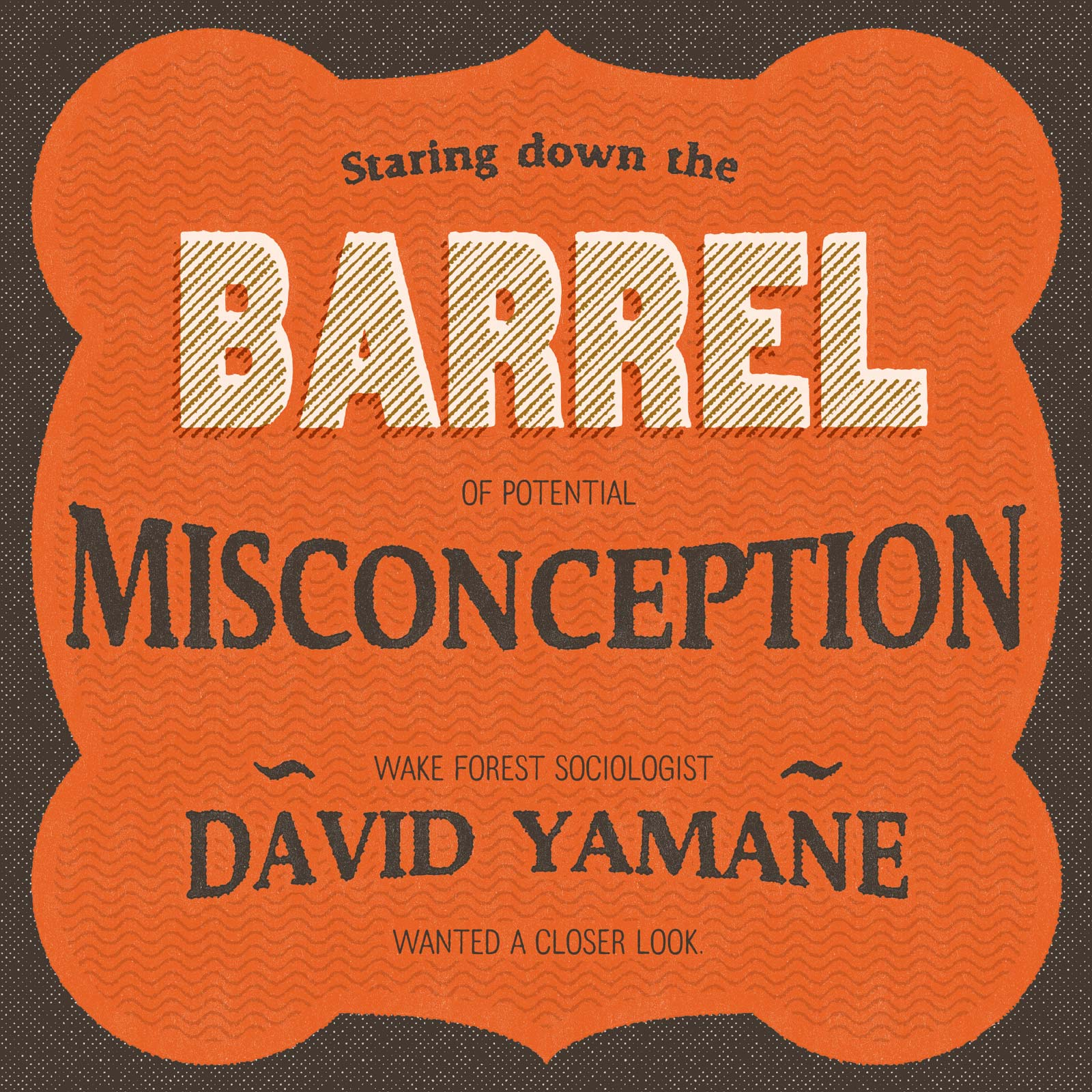 Staring down the barrel of potential misconception, Wake Forest sociologist David Yamane wanted a closer look.