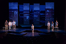 Dress rehearsal of The Laramie Project
