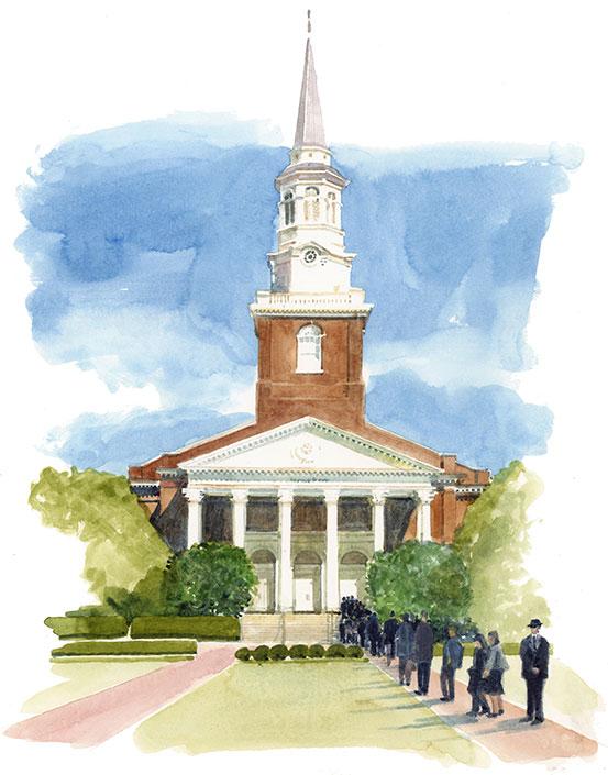Wait Chapel funeral