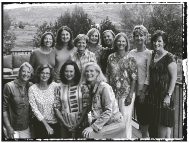 wild women group shot