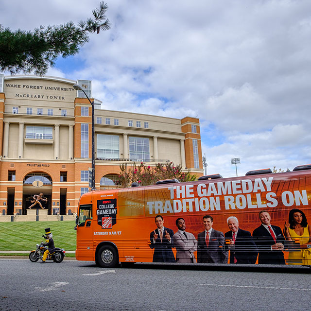 Wake Forest hosts ESPN College GameDay, Clemson