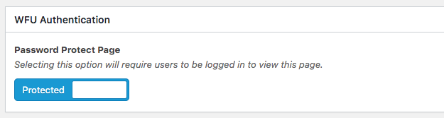 Google App security interface