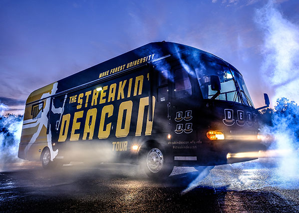 Streakin Deacon Bus