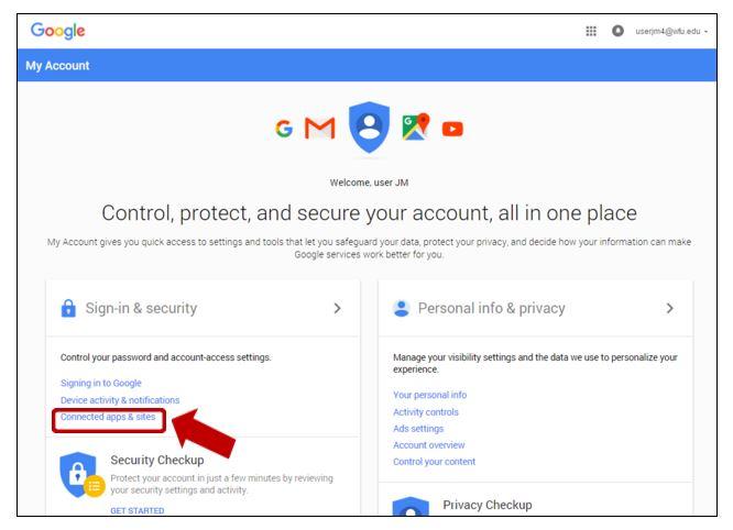 gmail security screenshot