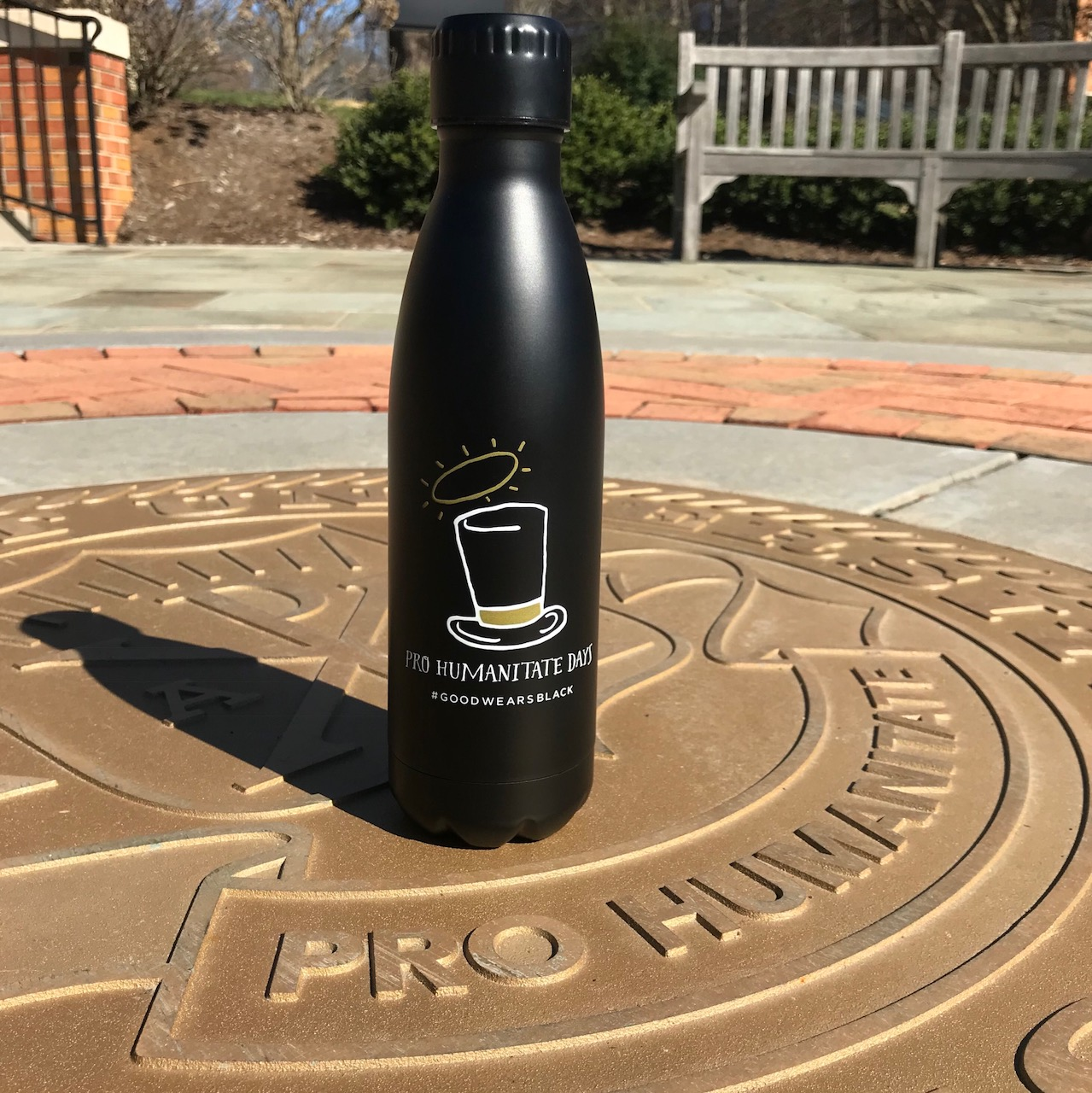 All registered 2018 participants will receive an insulated stainless steel Pro Humanitate Days water bottle.