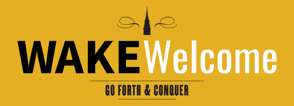 WAKEWelcome header - go forth and conquer