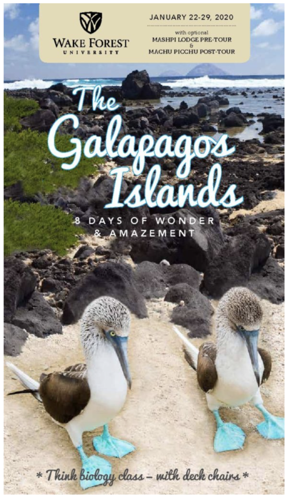 Alumni Travel: Galapagos