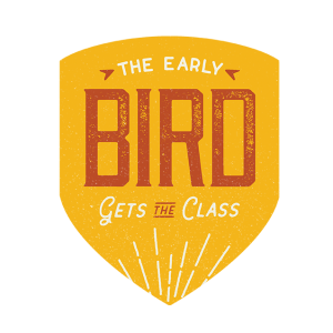 The Early Bird Gets the Class illustration