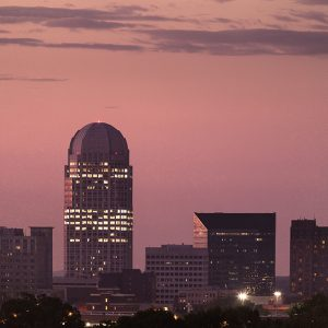 Downtown Winston-Salem skyline photo