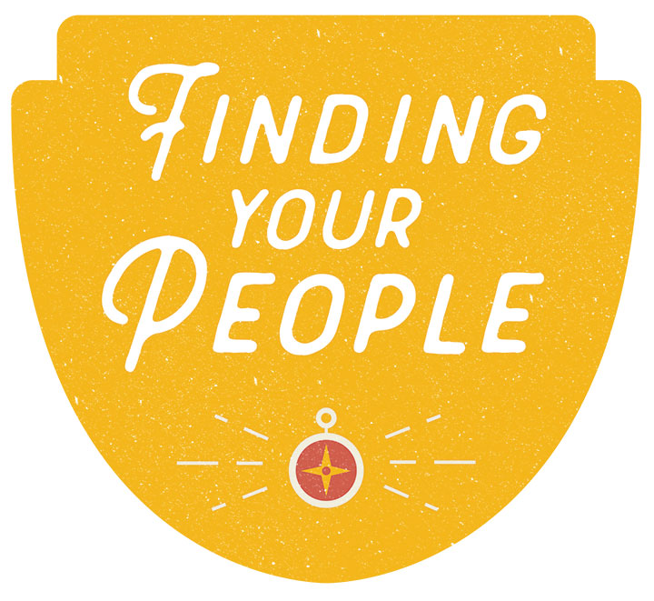 Finding Your People Badge