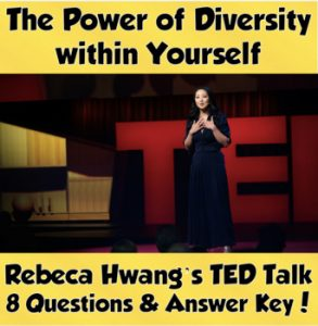 TED Talk- The Power of Diversity Within Yourself Cover