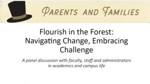 Flourish in the Forest title slide