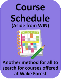 Course Schedule Purple
