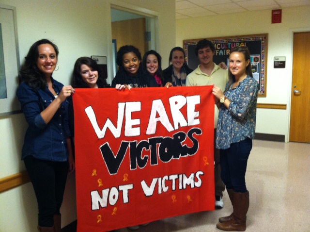 We are Victors, no Victims Quilt