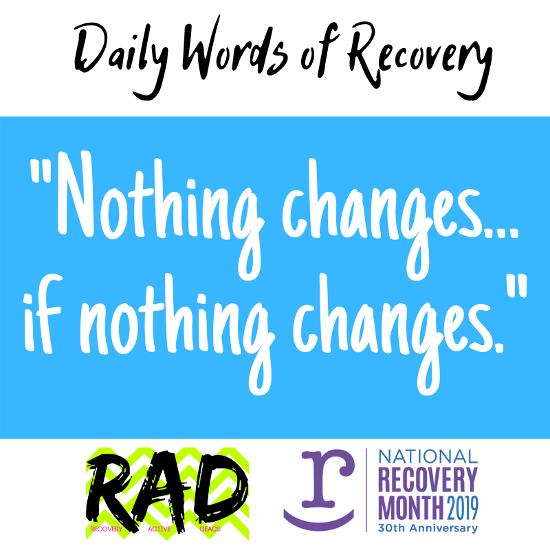 daily words of recovery