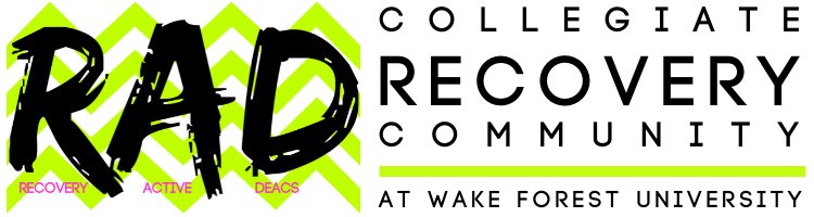 RAD (Recovery Active Deacs) Collegiate Recovery Community at Wake Forest University