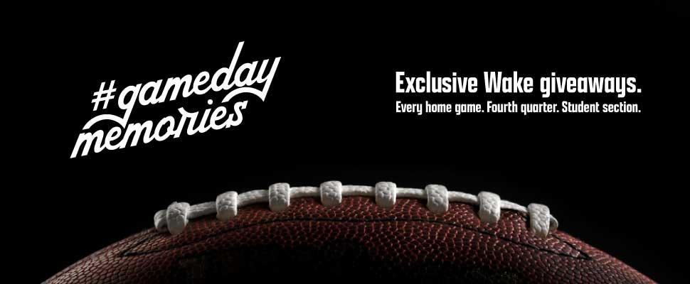 Gameday web banner
