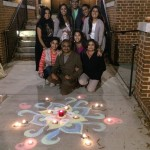 Diwali festival with freshman students