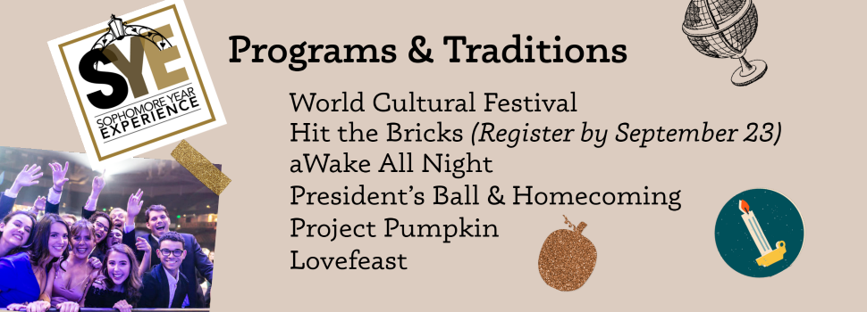 Programs and Traditions link