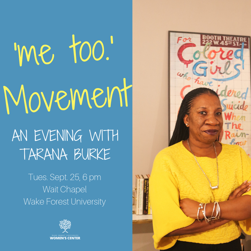 Guest Speaker Tarana Burke