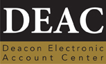 Deacon Electronic Account Center