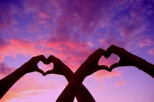 love-sunset