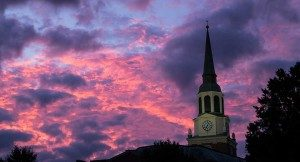 Wait Chapel at Sunrise