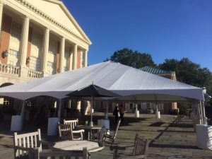Mag Patio tent for Homecoming