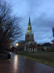 The Quad on an overcast fall morning 11/29/16