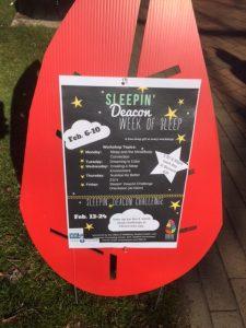 Sleep Week poster