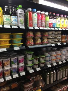 Sustainable and/or organic options in the Benson Center Sundry Shop