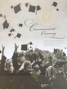 Commencement brochure