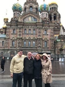 P'19 Knapp family in Russia