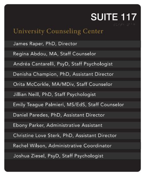What does the counseling center do what is it like for student sign for the university counseling center thecheapjerseys Image collections