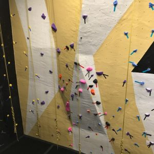 climbing and rope wall