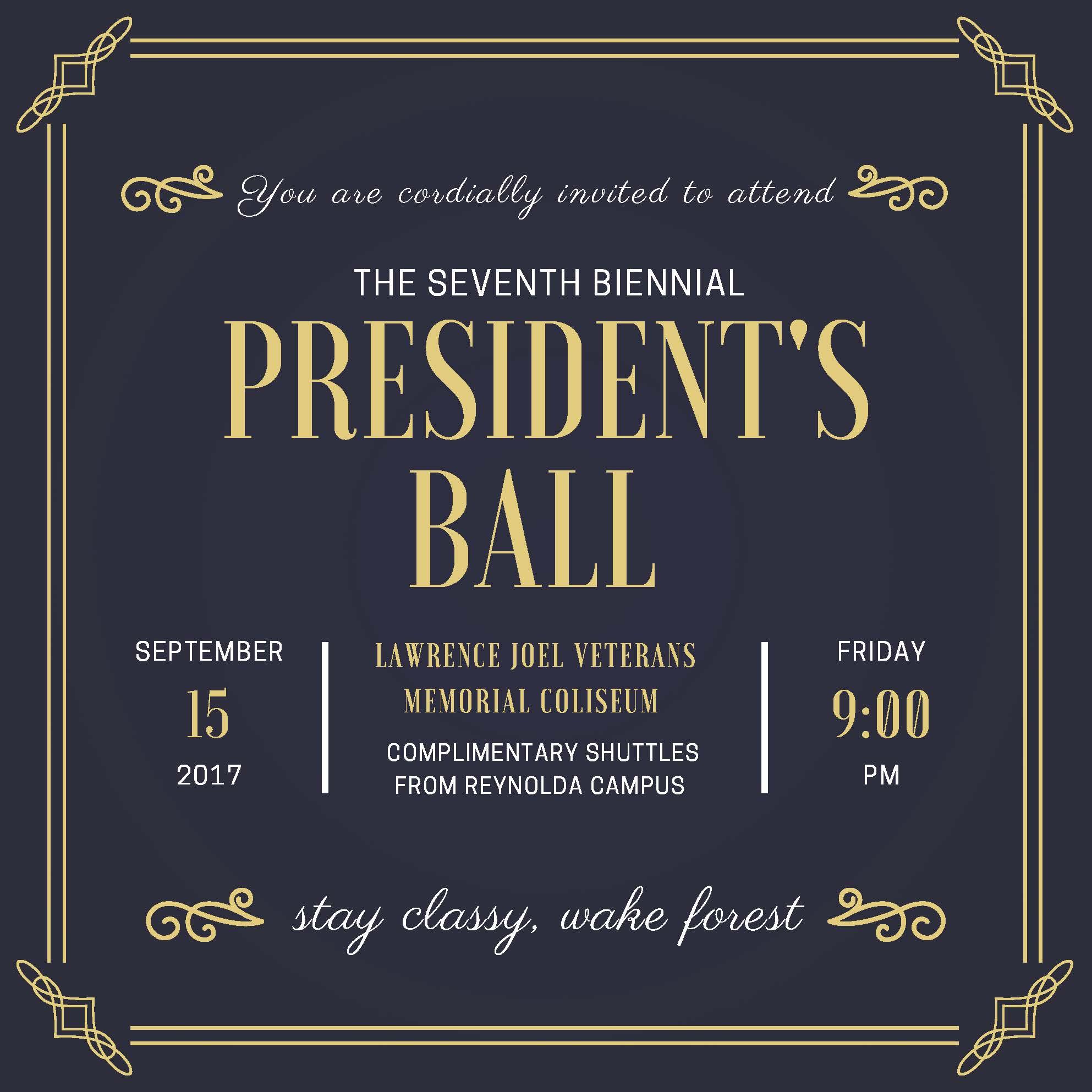 PresidentsBallInvitation2 Parents Families