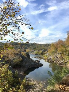 A gorgeous fall day in Great Falls National Park along the Potomac