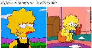 Finals meme