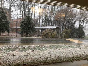 Snow on 12 8 17