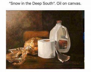 Joke: snow in the deep South