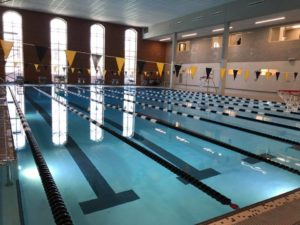 The new and MUCH improved Reynolds Gym pool