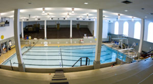 A view of the swimming pool inside Reynolds Gymnasium, Tuesday, June 29, 2010.