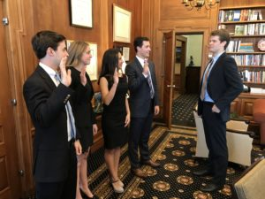Student Government swearing-in
