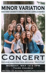 Minor Variation concert poster