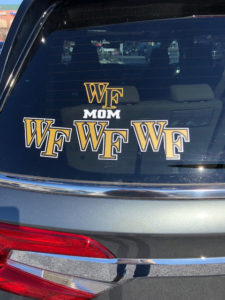 A very dedicated Deac mom with 3 WFU students